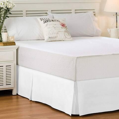Porch & Den Split Corner BedSkirt/ Bed Skirt In Ultra Soft Microfiber