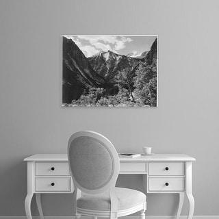 Easy Art Prints Ansel Adams's 'Paradise Valley, Kings River Canyon' Premium Canvas Art