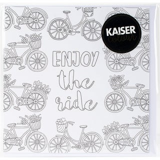 "KaiserColour Gift Card W/Envelope 6""X6""-Enjoy The Ride"