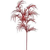 "Red - Glitter Palm Spray 29"""