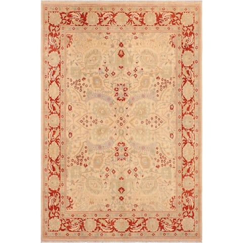 "Boho Chic Ziegler Rae Hand Knotted Area Rug -8'1"" x 10'3"" - 8 ft. 1 in. X 10 ft. 3 in."