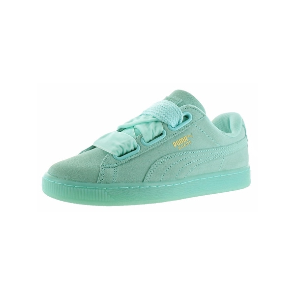 Shop Puma Womens Suede Heart Reset Fashion Sneakers Round