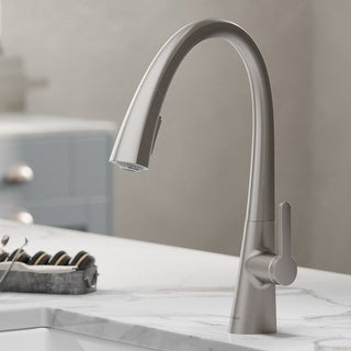 Link to Kraus KPF-1673 Nolen 1-Handle 2-Function Pulldown Kitchen Faucet Similar Items in Faucets
