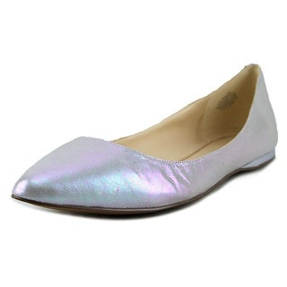 Nine West Speakup Pointed Toe Leather Flats