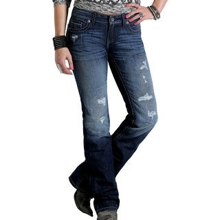 Cruel Girl Western Denim Jeans Womens Blake Slim Dk CB47254071