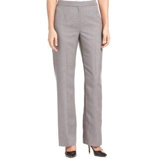 Kasper NEW Gray Women's Size 6X31 Kate Classic Fit Seamed Dress Pants