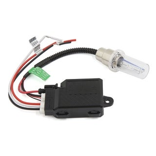 Unique Bargains DC 12V 35W Motorcycle 8000K HID Headlight Kit Bi Xenon Hi Lo Beam Light Bulb Set