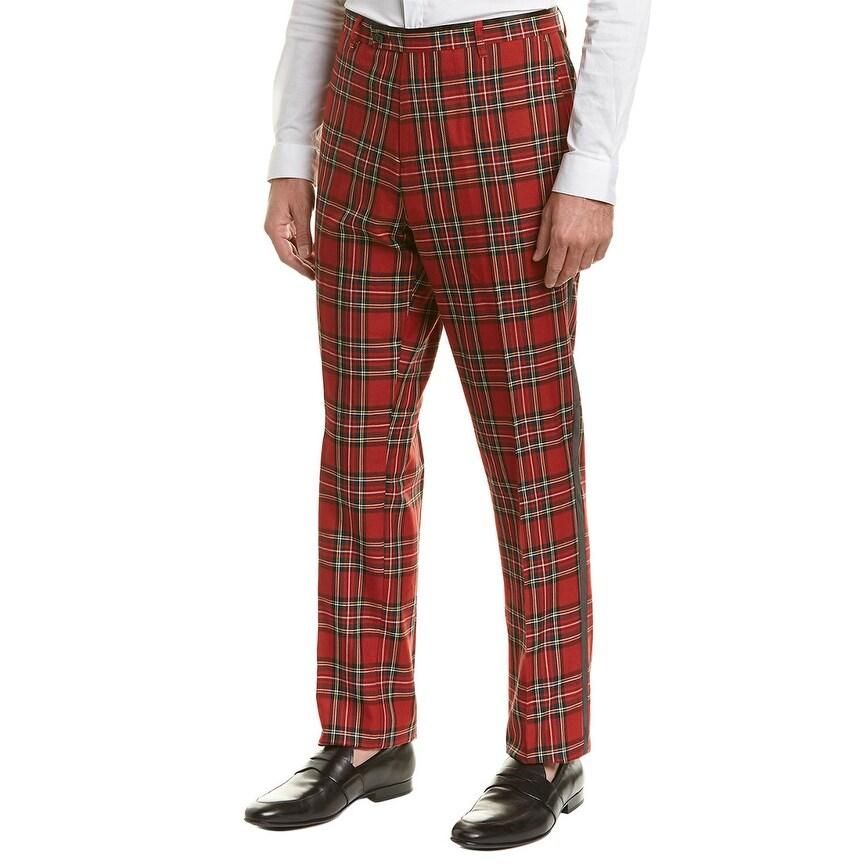 34 Paisley /& Gray Mens Sloane Slim Pant Black