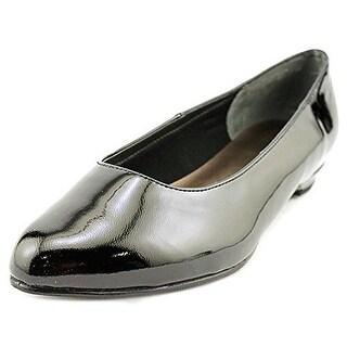 Rose Petals by Walking Cradles Womens Butter 2 Ballet Flats Patent Almond Toe
