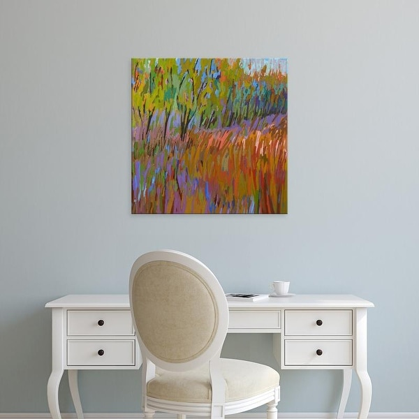 Easy Art Prints Jane Schmidt's 'Pastoral XVII' Premium Canvas Art