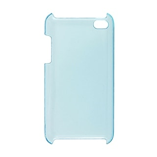 Plastic Phone Hard Cover Clear Baby Blue for iPod Touch 4G
