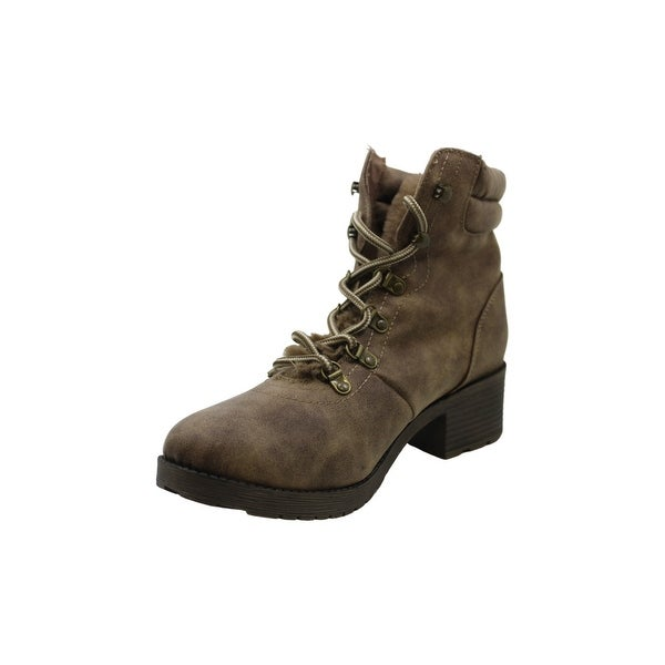 candies lace up boots