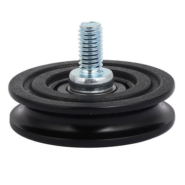 Shop 40mmx10mm Nylon U Groove Threaded Rod Track Roller