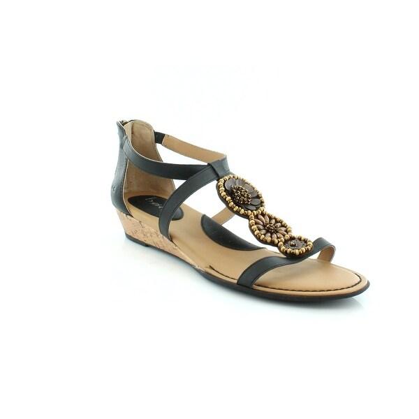 B.O.C. Gwenth Women's Sandals & Flip Flops Black