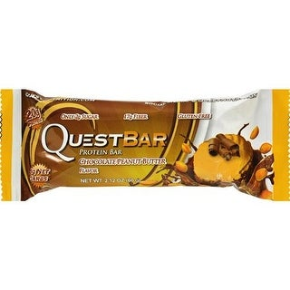 Quest Nutrition - Chocolate Peanut Butter Bar ( 12 - 2.12 OZ)