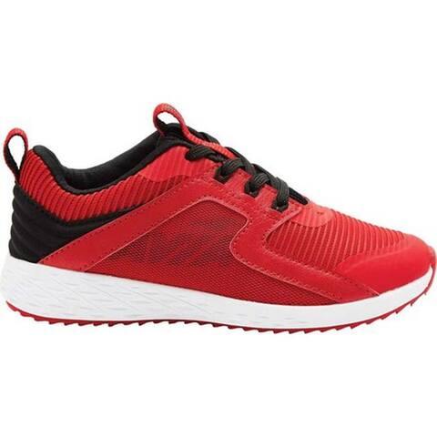 Avia Boys' Avi-Ryder Sneaker Chinese Red/Black/Silver