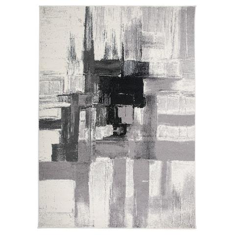 Contemporary Modern Abstract Area Rug