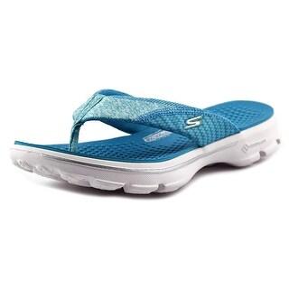 Skechers Go Walk-Pizazz Women Open Toe Synthetic Slides Sandal