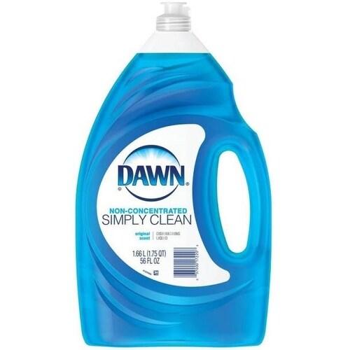 Dawn 17220 Non-concentrate Original Scent Dishwashing Liquid, 56 Oz