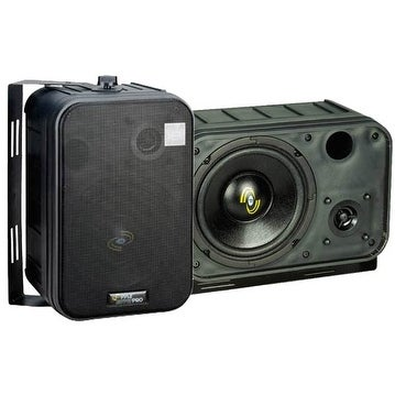 6.5'' Two-Way Bass Reflex Mini-Monitor System & Bookshelf/wall mount Speakers