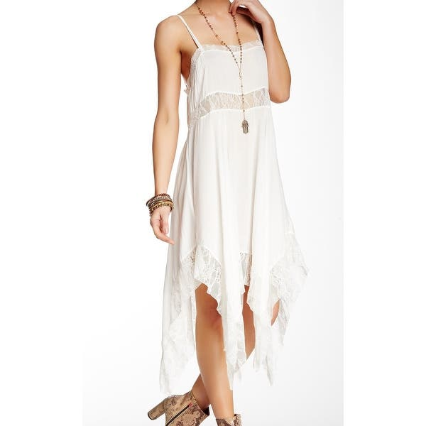 Details about  /NEW Free People Layered Up Mesh Midi Slip Dress By Intimately Size Small