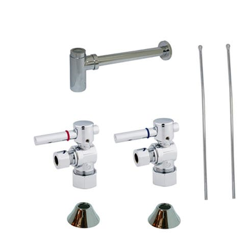 Kingston Brass CC5330DLLKB30 Trimscape Sink Plumbing Trim Kit with