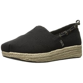 a9092009754 Shop BOBS from Skechers Women's Highlights Flexpadrille Wedge, Black ...