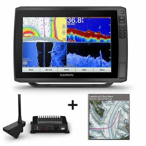 Garmin ECHOMAP Ultra 126sv with Panoptix LiveScope And LakeVu g3 Ultra