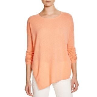 Joie Womens Anthenat Pullover Sweater Cashmere Ribbed Trim