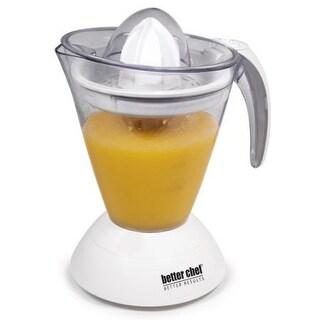 Better Chef Better Result Citrus Juicer Large Capacity 25 oz. - White - 21 x 5 x 21