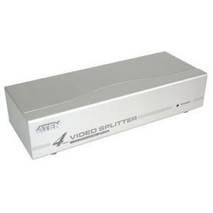 Aten VS94A Aten 4 port Video Splitter - 1 x Computer, 4 x Monitor - 1920 x 1440 @ 60Hz - SVGA, XGA