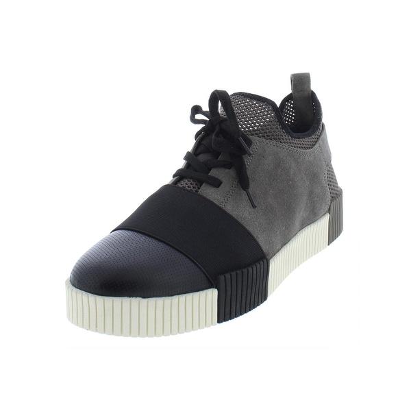 fd644204c8e Marc Fisher Womens Ryley Fashion Sneakers Suede Flatform - 10 Medium (B