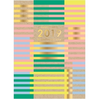 Bold Lines Planner, Decorative Planner by Waste Not Paper