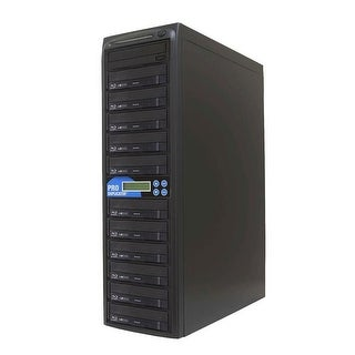 10 Target Daisy Chain Blu-Ray BDXL DVD CD Duplicator with Built-In