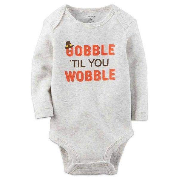 Carter's Unisex Baby Bodysuits Heather New Born