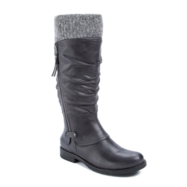 Wear.Ever. Casandrey Women's Boots DK Grey