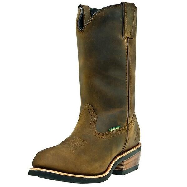 Dan Post Work Boots Mens Albuquerque Waterproof Oil Tan