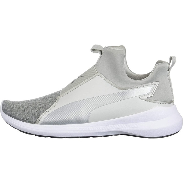 PUMA Kids Rebel Mid Glow Sneaker - 11