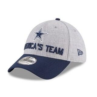 Dallas Cowboys 2018 Draft On Stage 39Thirty Flex Fit Hat Size M/L
