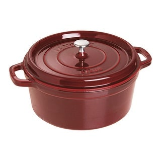 Link to Staub Cast Iron 7-qt Round Cocotte Similar Items in Cookware