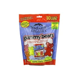Yummy Earth - Organic Gummy Bears ( 30 - .7 OZ)