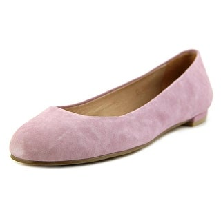 Nina Michelle Women  Round Toe Suede Purple Flats