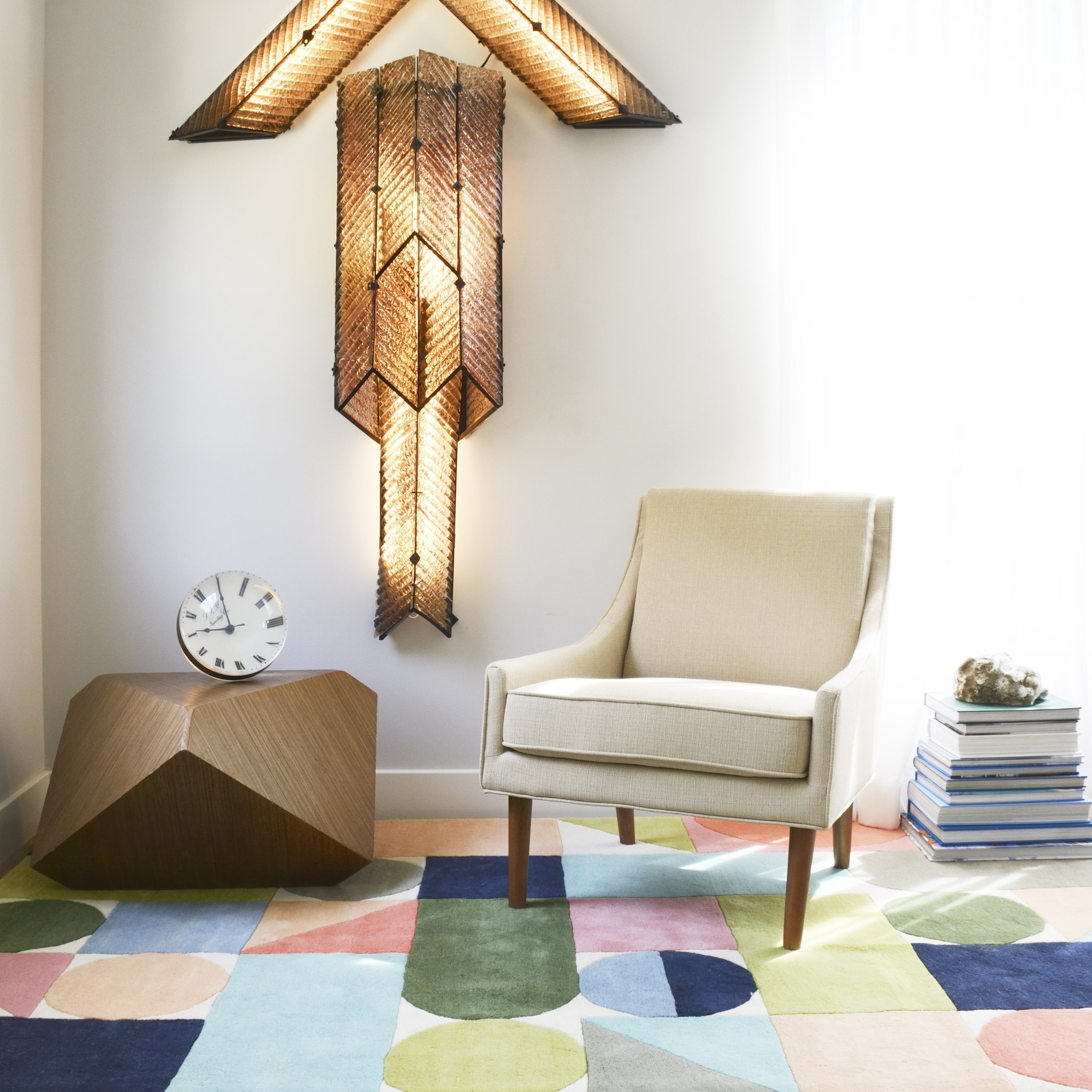 Novogratz By Momeni Delmar Wright Hand Tufted Wool Area Rug On Sale Overstock 15384161 2 3 X 8 Runner Multi