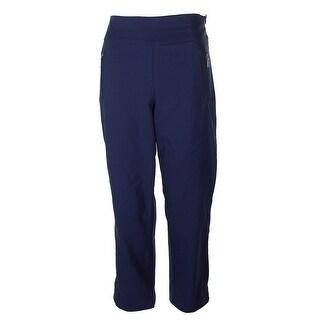 Inc International Concepts Navy High-Waist Bootcut Pants 4