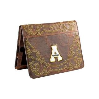 Gameday iPad Case Appalachian Distressed Leather Brass APP-IP078-1