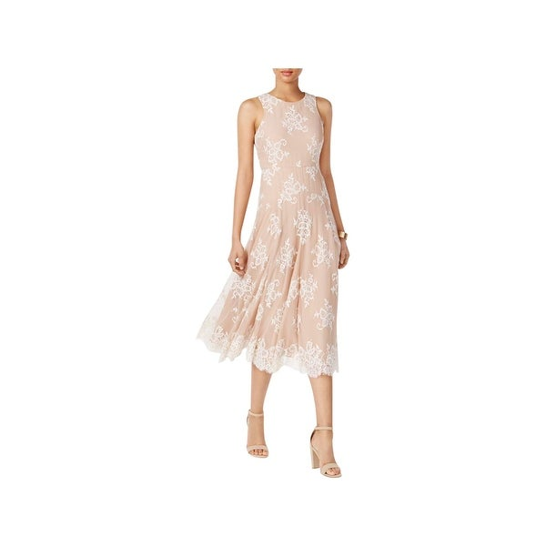 Shop Betsey Johnson Womens Special Occasion Dress Lace Tea