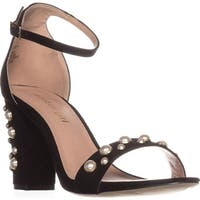 madden girl Bitsyy Ankle-Strap Heeled Sandals, Black
