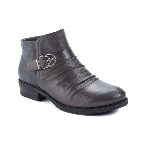 Baretraps Yulia Women's Boots DARK GREY MICROFIBER