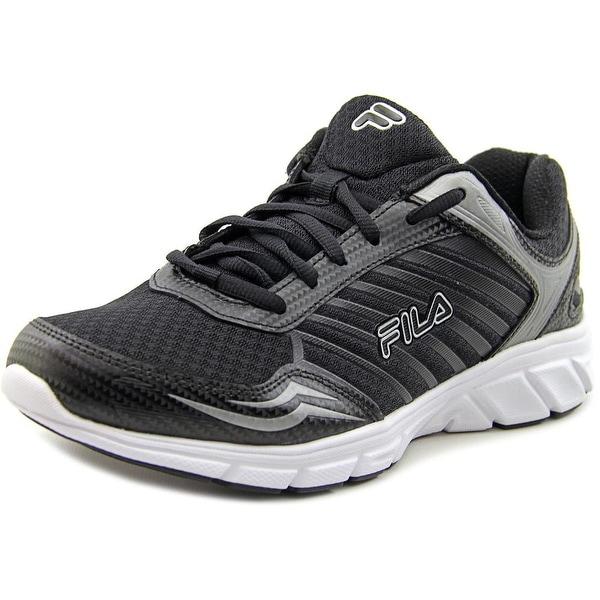 Fila Gamble Men Round Toe Synthetic Black Sneakers