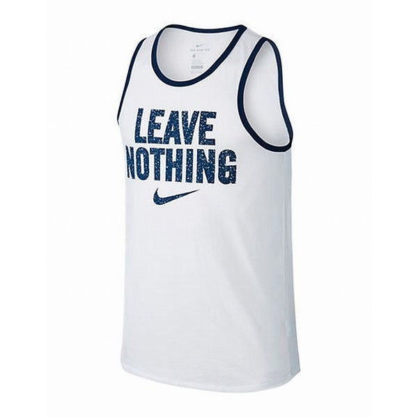 dc3d30a1e5d9 Shop Nike Bright White Men's Size 2XL Dri Fit Running Sleeveless Tank Top - Free  Shipping On Orders Over $45 - Overstock - 22468739